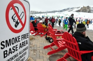 whistler smoke free slopes