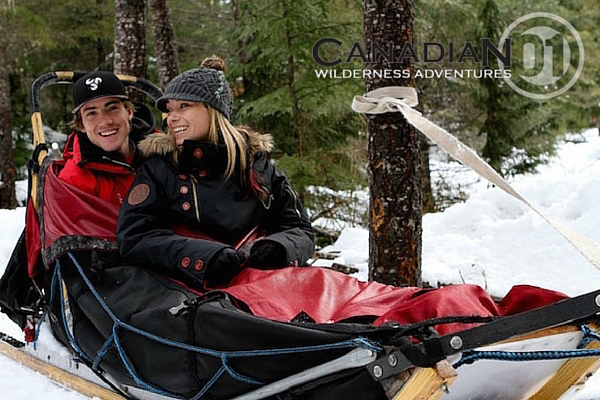Whistler Dog Sledding for Couples Canadian Wilderness Adventures